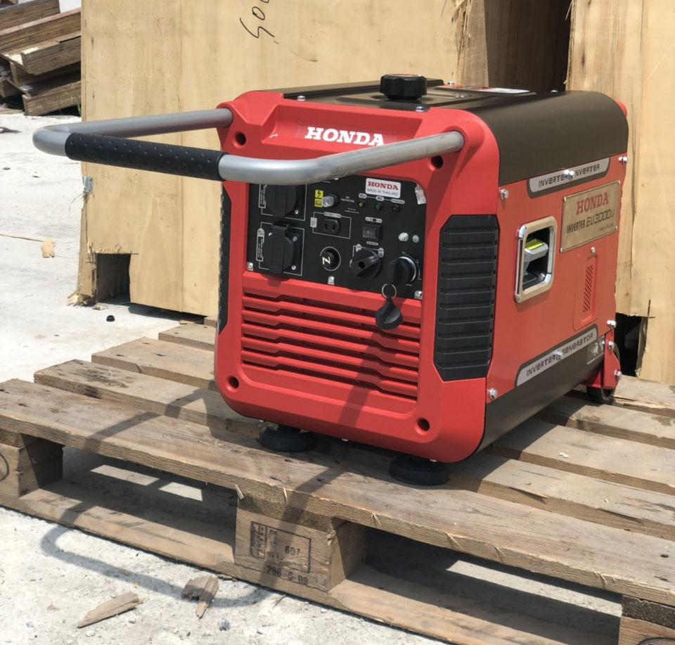 máy phát điện honda 3kw kéo tay inverter