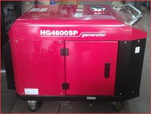 Máy phát điện không ồn HG4600SP