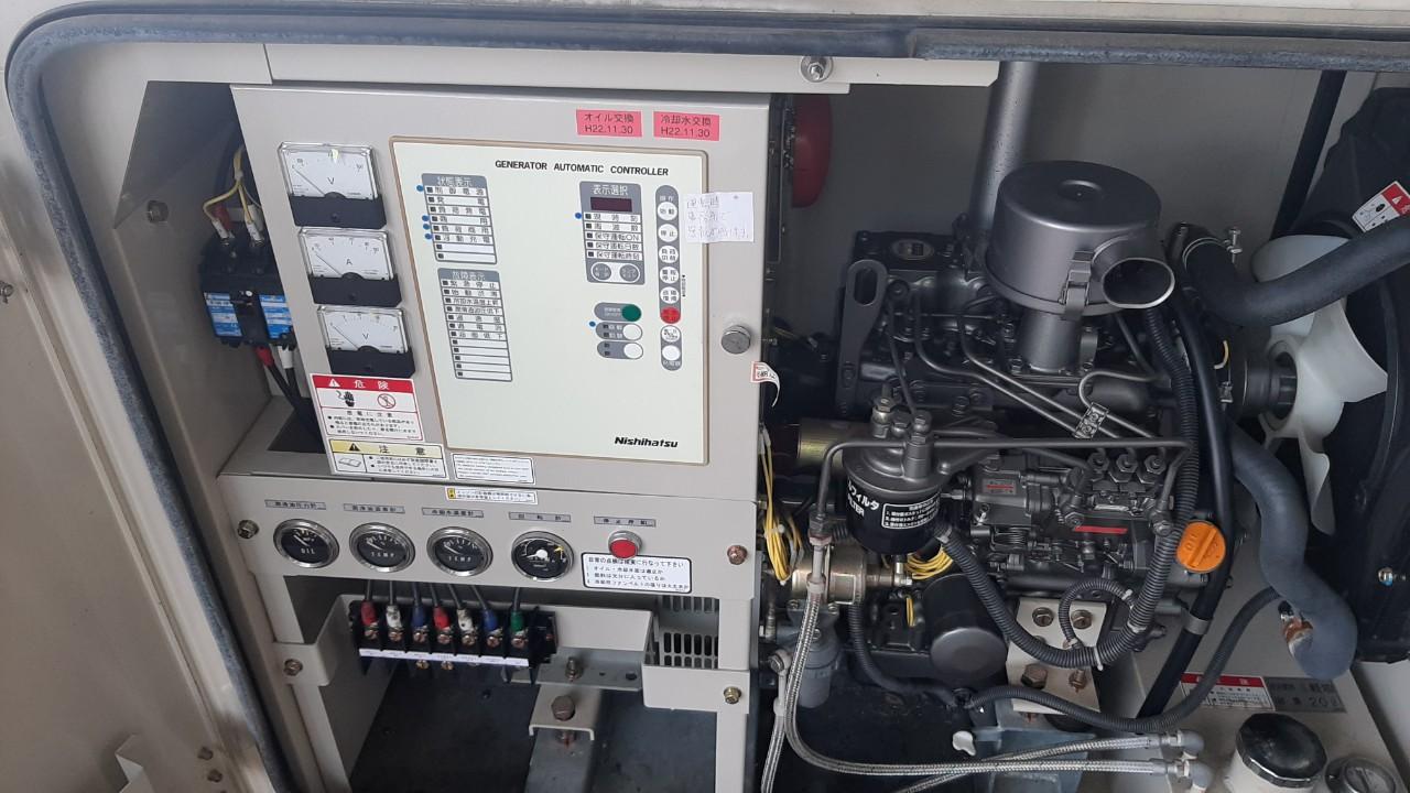 máy phát điện 45kw cũ