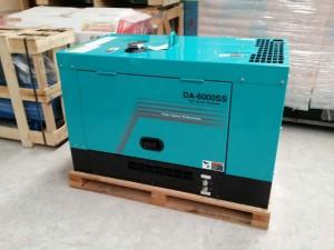 máy phát điện chạy dầu 5KW DA-6000SS