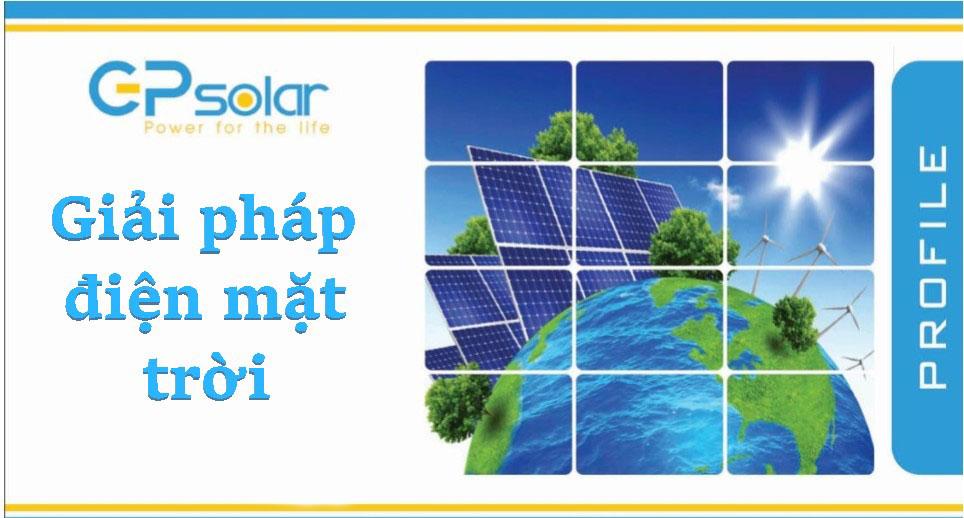 Giới thiệu hệ thống điện mặt trời tại GPsolar
